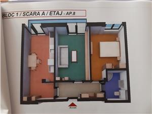 Apartament 2 camere NOU in Sibiu, Turnisor