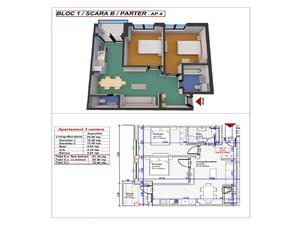Apartament NOU 3 camere in Turnisor