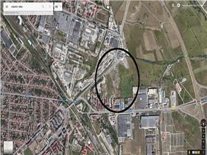 Teren pentru bloc cu PUZ aprobat in Sibiu