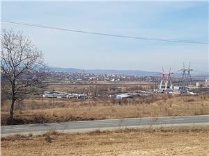 Teren de vanzare in Dealul Daii langa Sibiu
