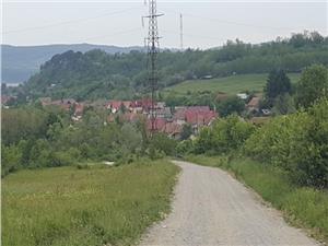 Teren de vanzare in Racovita zona Valea Lupului