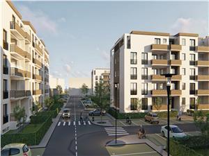 Ansamblul Rezidential Balanta, vinde apartament nou cu 3 camere