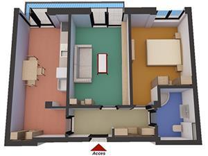 Apartament 2 camere  de vanzare in  Soseaua Alba Iulia - Sibiu