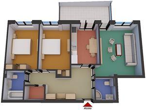 Apartament 3 camere de vanzare in zona soseaua Alba Iulia -  Sibiu