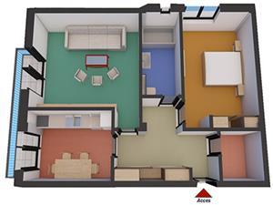 Apartament nou 2 camere de vanzare in zona Alba Iulia - Sibiu
