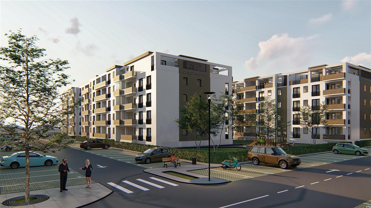 Apartament 2 camere, Tip 1, etajul 1, 2, 3, Residence Sibiu