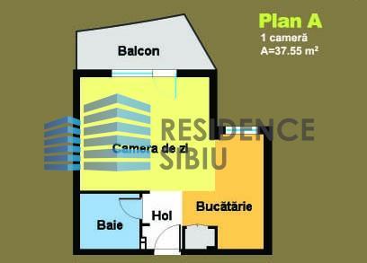 Apartament 2 camere in bloc nou cartier Hipodrom Sibiu