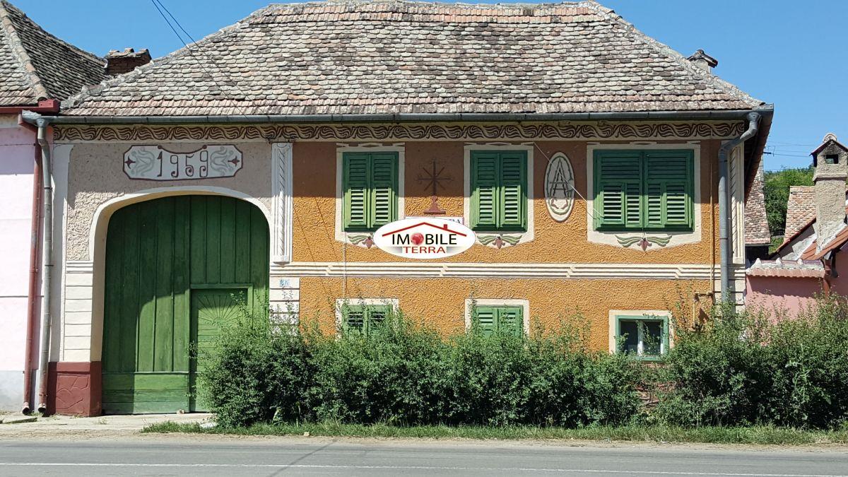 Casa de vanzare pe valea hartibaciului altana 6748 - Terenes casa rural ...