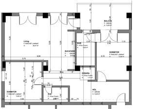 Apartament 3 camere, Tip 1, etajul 1-3, Balanta Residence Sibiu