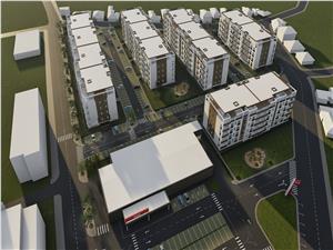 Apartament 3 camere la etajul 1, 2 si 3 Balanta Residence Sibiu
