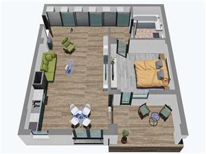 Apartament 2 camere, Parter,  Balanta Residence Sibiu