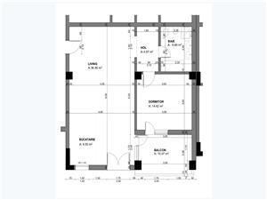 Apartament 2 camere, Parter, Tip 1, Balanta Residence