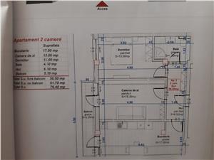 Apartament 2 camere Turnisor