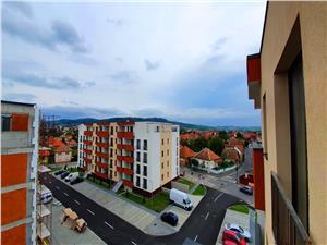 Penthouse cu vedere spre centrul Sibiului