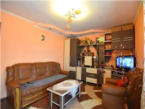 Apartament mobilat cu 2 camere decomandate de vanzare la Trei Stejari