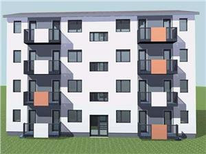 Apartament 3 camere, Calea Cisnadiei cu gradina