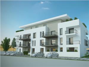 Apartament cu tereasa in Selimbar, zona Brana