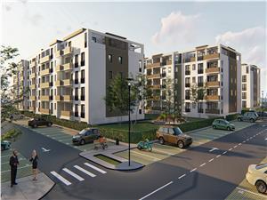 Apartament 2 camere, Tip 1, etajul 1, 2, 3, Balanta Residence Sibiu