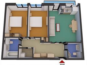 Apartament 3 camere in zona Soseaua Alba  Iulia - Sibiu