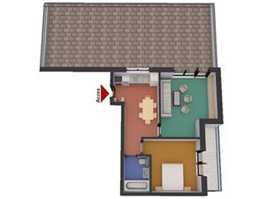 Apartament 2 camere de vanzare in zona Soseaua Alba Iulia - Sibiu