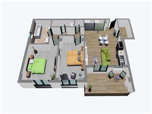 Balanta Residence vinde Apartamente noi cu 3 camere,